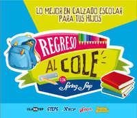 Regreso al cole con Spring Step