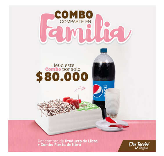 Ofertas de Don Jacobo, Combos Don Jacobo.