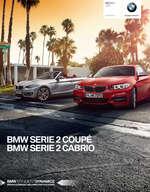 Ofertas de BMW, BMW Serie 2 Coupé y Serie 2 Cabrio