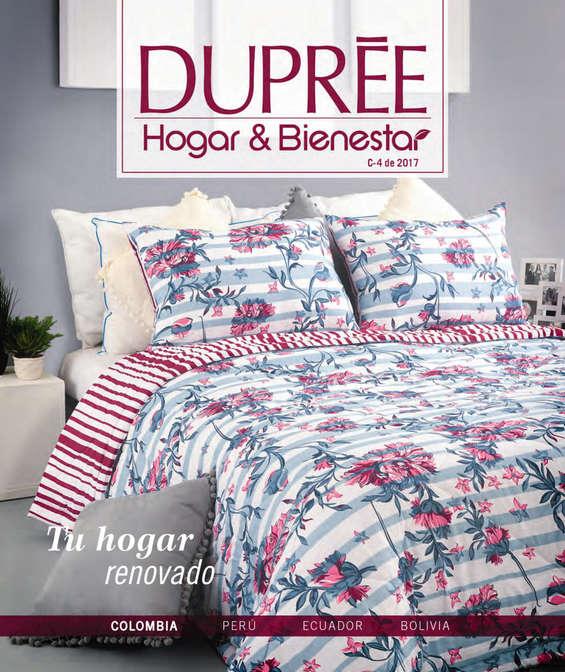 Ofertas de Dupree, Catálogo Hogar Campaña 04 de 2017