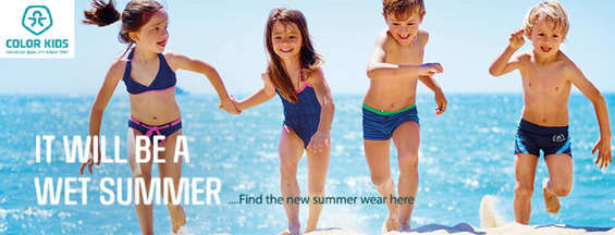 Ofertas de Color Kids, It will b e a weat summer