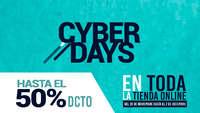 Cyber Days - Hasta el 50% de descuento