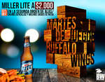 Ofertas de Buffalo Wings, Promociones.
