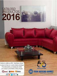 Catálogo Productos 2016