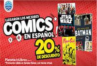 Llegaron los mejores comics en español - 20% de descuento