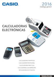 Calculadoras electronicas