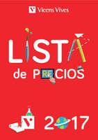 Ofertas de Vicens Vives, Lista de precios 2017