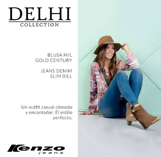 Ofertas de Kenzo Jeans, Delhi Collection