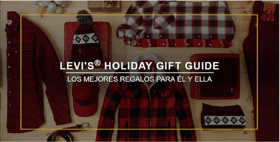Ofertas de Levi's, Levi's Holiday Gift Guide - Mujer