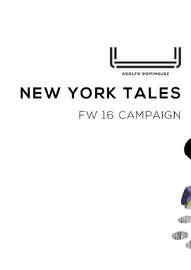 New York Tales FW 16