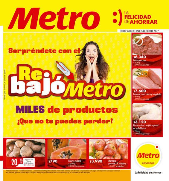 Ofertas de Metro, Rebajó Metro