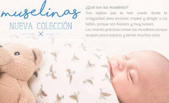 Ofertas de Baby Fresh, Nueva Colección - Muselinas