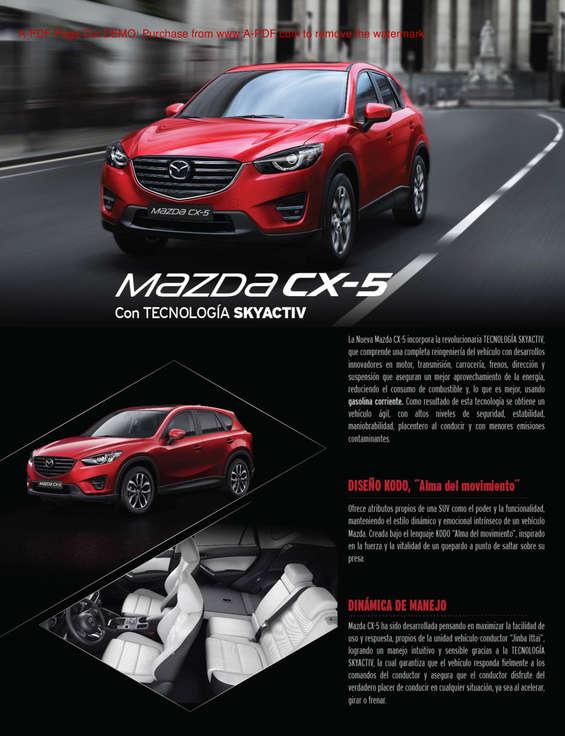 Ofertas de Mazda, Mazda CX 5