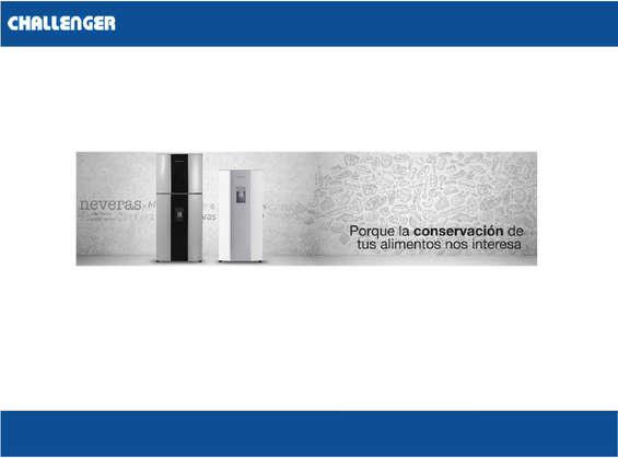 Ofertas de Challenger Centros de Servicio, Neveras