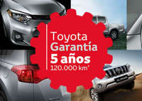 Toyota Garantía de 5 años