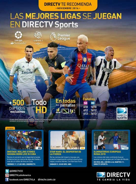 Ofertas de Direct TV, Newsletter - Noviembre