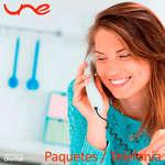 Ofertas de UNE, Paquetes-Telefonía