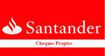 Ofertas de Banco Santander, Cheques propios