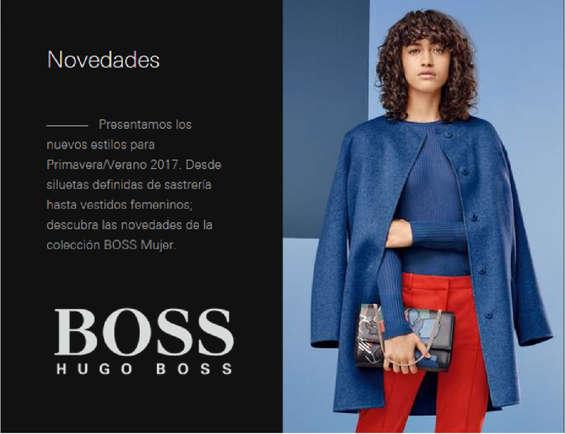 Ofertas de Hugo Boss, Novedades Primavera-Verano 2017