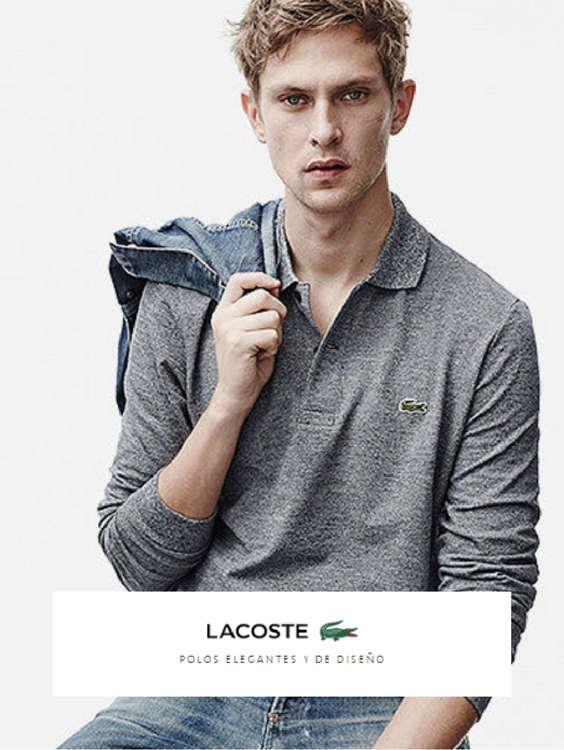 Ofertas de Lacoste, Polos elegantes y de diseño