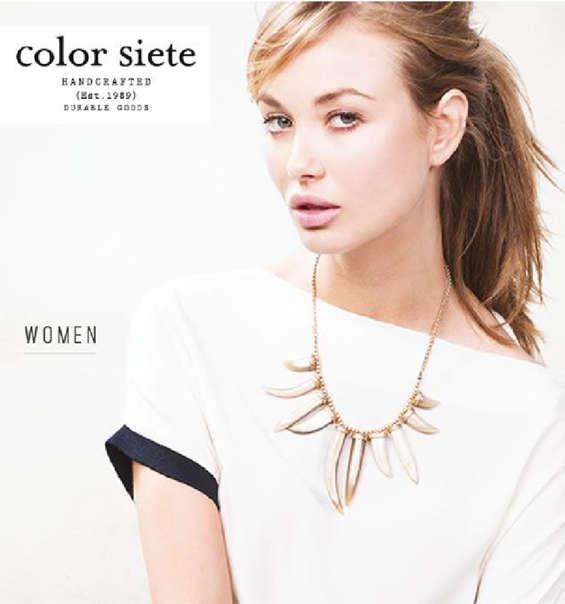 Ofertas de Color Siete, Mujer