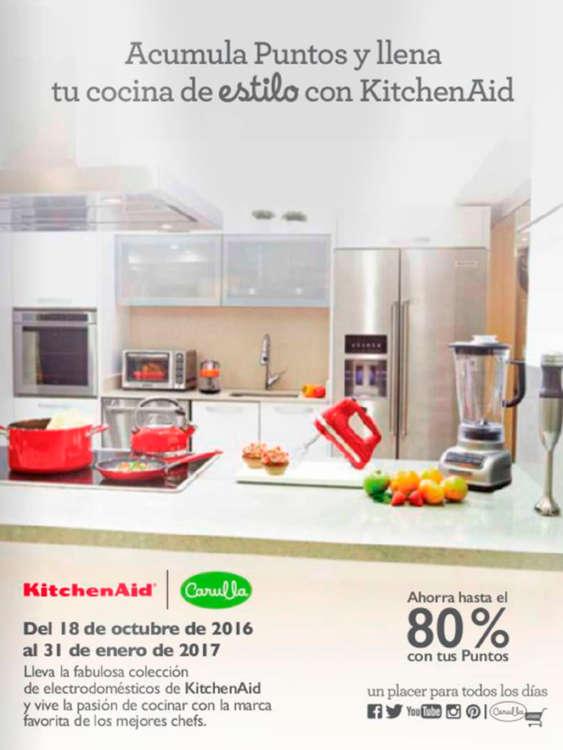 Ofertas de Carulla, Campañas Coleccionables - Llena tu cocina de estilo con KicthenAid