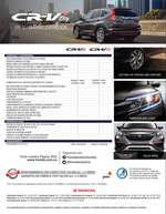 Ofertas de Honda Autos, Honda CRV City