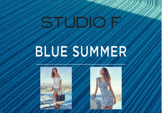 Ofertas de Studio F, Colección Blue Summer