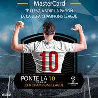 Masterdcard te lleva a vivir la pasión de la UEFA Champions League