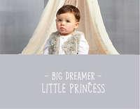 New Born Girl - Big dreamer little princess
