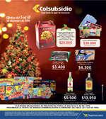 Ofertas de Supermercados Colsubsidio, Catálogo Navideño
