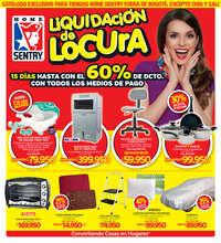 Liquidación de locura - Fuera de Bogotá, excepto Chía y Cali