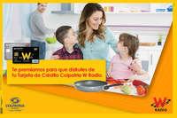 Tarjeta de Crédito Colpatria W Radio