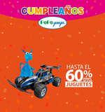 Ofertas de Pepe Ganga, Cumpleaños Pepe Ganga - 60% de descuento en Juguetes