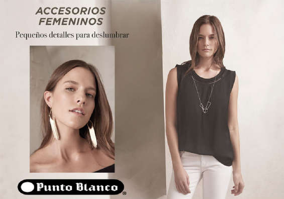 Ofertas de Punto Blanco, Accesorios Femeninos