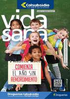 Ofertas de Supermercados Colsubsidio, Revista Vida Sana Ed. 121 - Comienza el año sin remordimiento