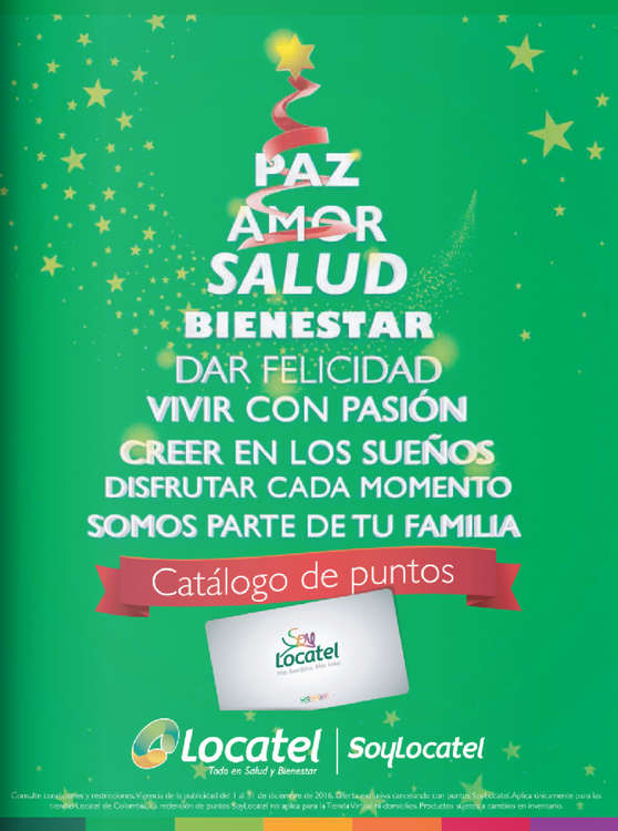 Ofertas de Locatel, Catálogo Puntos - Navidad