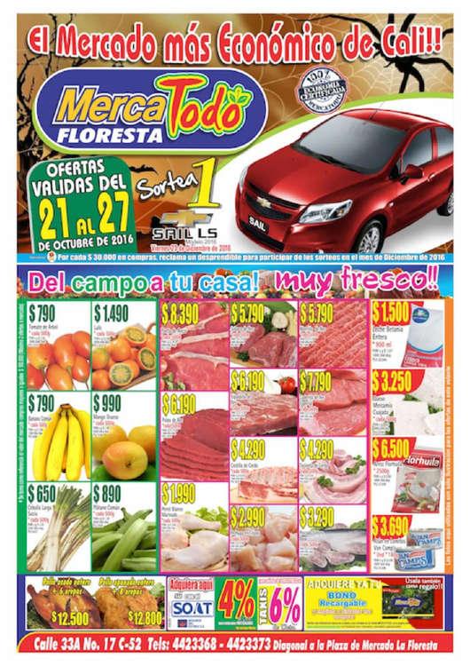 Ofertas de MercaTodo, El Mercado más económico de Cali!! - Floresta