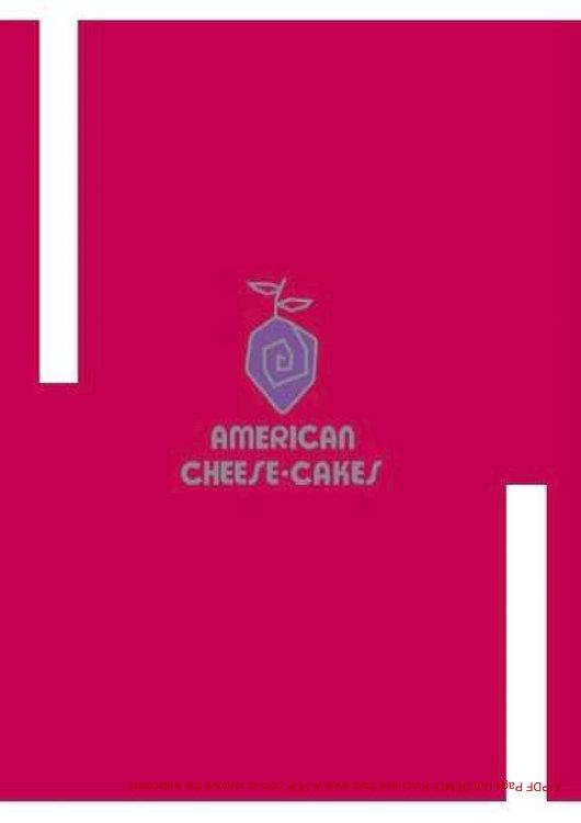 Ofertas de American Cheesecake, Postres y pies