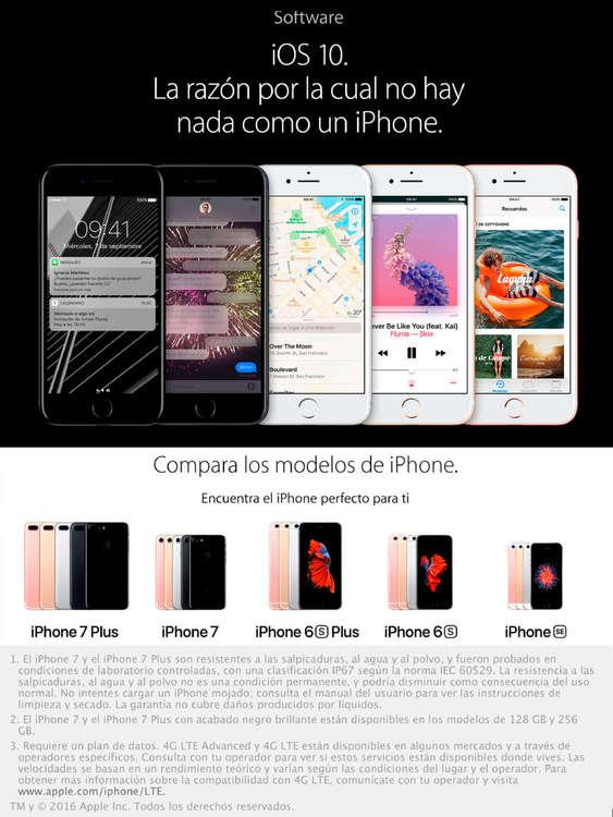 Ofertas de Claro, IPhone 7