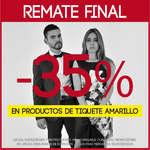 Ofertas de Los Vestidos, Remate final - 35% en productos de tiquete amarillo