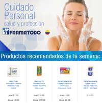 Productos recomendados de la semana