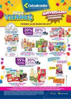 Ofertas de Supermercados Colsubsidio, Mega Viernes