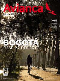 Revista Avianca - Bogotá respira deporte