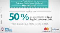 50% de descuento en Open English
