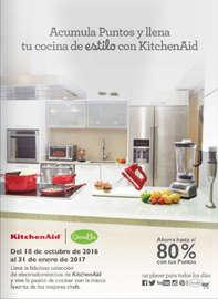 Acumula puntos y llena tu cocina de estilo con KitchenAid
