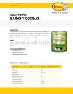 Ofertas de Pintuco, Viniltex Baños y Cocinas