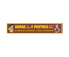 Catálogos de <span>Sopas de Mam&aacute; y Postres de la Abuela</span>