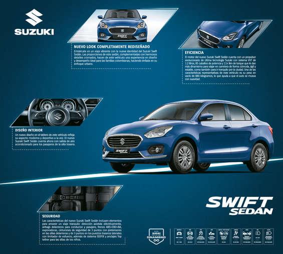 Ofertas de Suzuki Autos, Suzuki Swift Sedan
