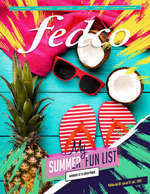 Ofertas de Fedco, Catálogo - My Summer Fun List